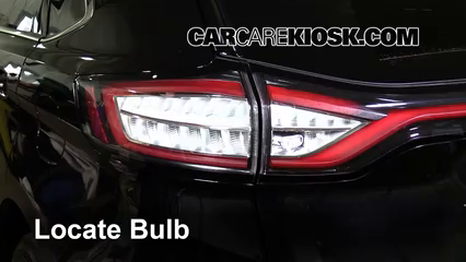 2016 Ford Edge Titanium 2.0L 4 Cyl. Turbo Luces Luz de freno (reemplazar foco)
