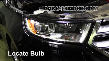 2016 Ford Edge Titanium 2.0L 4 Cyl. Turbo Lights Headlight (replace bulb)