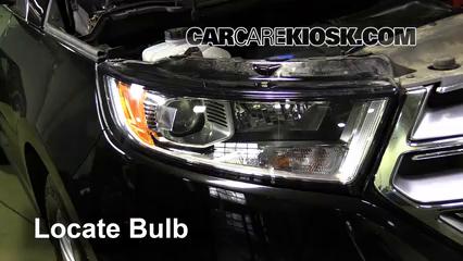 2016 Ford Edge Titanium 2.0L 4 Cyl. Turbo Lights Parking Light (replace bulb)