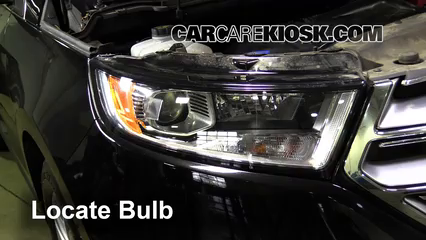 2016 Ford Edge Titanium 2.0L 4 Cyl. Turbo Lights Turn Signal - Front (replace bulb)
