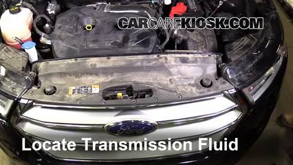 2016 Ford Edge Titanium 2.0L 4 Cyl. Turbo Transmission Fluid