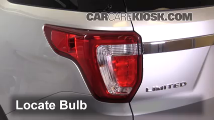 2016 Ford Explorer Limited 2.3L 4 Cyl. Turbo Lights Turn Signal - Rear (replace bulb)