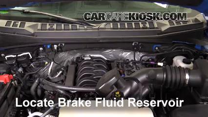 2016 Ford F-150 XLT 5.0L V8 FlexFuel Crew Cab Pickup Brake Fluid