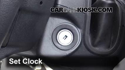 2016 Ford F-150 XLT 5.0L V8 FlexFuel Crew Cab Pickup Clock