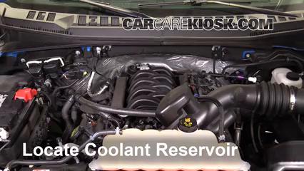 2016 Ford F-150 XLT 5.0L V8 FlexFuel Crew Cab Pickup Coolant (Antifreeze)
