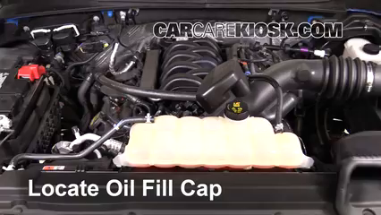 2016 Ford F-150 XLT 5.0L V8 FlexFuel Crew Cab Pickup Oil