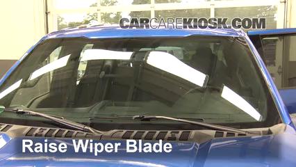 2016 Ford F-150 XLT 5.0L V8 FlexFuel Crew Cab Pickup Windshield Wiper Blade (Front)