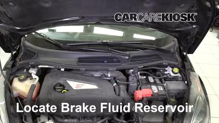 2016 Ford Fiesta ST 1.6L 4 Cyl. Turbo Liquide de frein