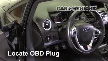 2016 Ford Fiesta ST 1.6L 4 Cyl. Turbo Lumière « Check engine » du moteur