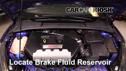 2016 Ford Focus ST 2.0L 4 Cyl. Turbo Liquide de frein