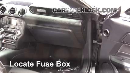 2016 Ford Mustang V6 3.7L V6 Coupe Fusible (intérieur)