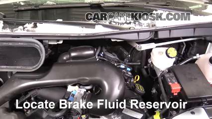 2016 Ford Transit-350 HD XLT 3.7L V6 FlexFuel Liquide de frein