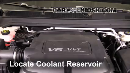 2016 GMC Canyon SLT 3.6L V6 Crew Cab Pickup Coolant (Antifreeze)