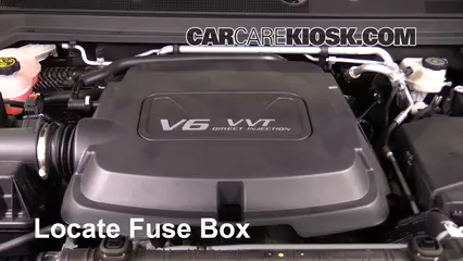 2016 GMC Canyon SLT 3.6L V6 Crew Cab Pickup Fuse (Engine)