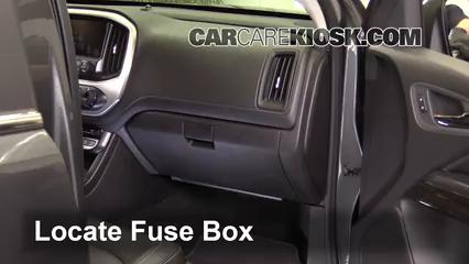 2016 GMC Canyon SLT 3.6L V6 Crew Cab Pickup Fuse (Interior)