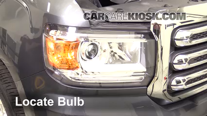 2016 GMC Canyon SLT 3.6L V6 Crew Cab Pickup Luces Luz de estacionamiento (reemplazar foco)