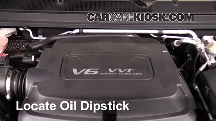 2016 GMC Canyon SLT 3.6L V6 Crew Cab Pickup Aceite Sellar pérdidas