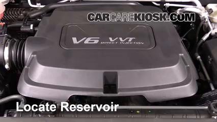2016 GMC Canyon SLT 3.6L V6 Crew Cab Pickup Windshield Washer Fluid