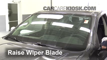 2016 GMC Canyon SLT 3.6L V6 Crew Cab Pickup Windshield Wiper Blade (Front)
