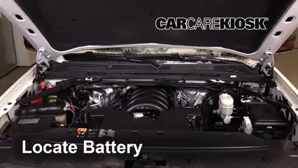 2016 GMC Sierra 1500 SLT 6.2L V8 Crew Cab Pickup Batería