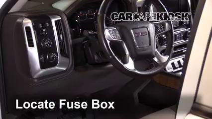 2016 GMC Sierra 1500 SLT 6.2L V8 Crew Cab Pickup Fusible (interior)