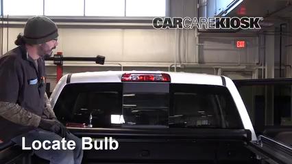 2016 GMC Sierra 1500 SLT 6.2L V8 Crew Cab Pickup Luces Luz de freno central (reemplazar foco)