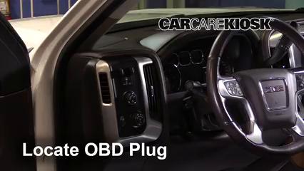 2016 GMC Sierra 1500 SLT 6.2L V8 Crew Cab Pickup Compruebe la luz del motor