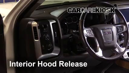 2016 GMC Sierra 1500 SLT 6.2L V8 Crew Cab Pickup Capó