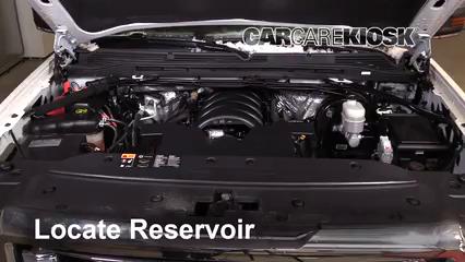 2016 GMC Sierra 1500 SLT 6.2L V8 Crew Cab Pickup Líquido limpiaparabrisas