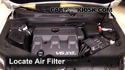 2016 GMC Terrain SLT 3.6L V6 FlexFuel Filtre à air (moteur)