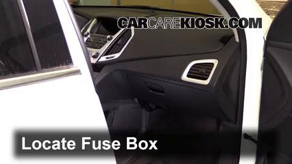 2016 GMC Terrain SLT 3.6L V6 FlexFuel Fusible (intérieur)