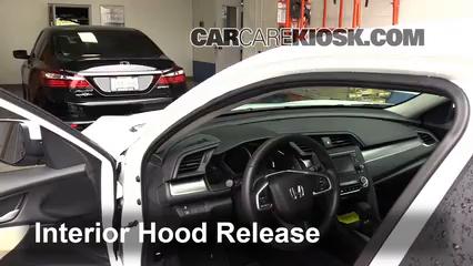 2016 Honda Civic LX 2.0L 4 Cyl. Sedan Capot