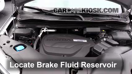 2016 Honda Pilot EX 3.5L V6 Líquido de frenos Controlar nivel de líquido