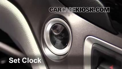 2016 Honda Pilot EX 3.5L V6 Clock