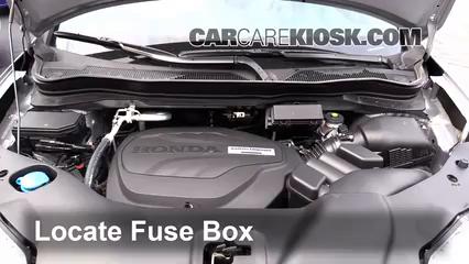 2016 Honda Pilot EX 3.5L V6 Fusible (motor) Cambio