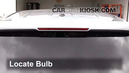 2016 Honda Pilot EX 3.5L V6 Luces Luz de freno central (reemplazar foco)