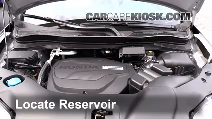 2016 Honda Pilot EX 3.5L V6 Windshield Washer Fluid