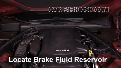 2016 Hyundai Genesis 3.8 3.8L V6 Líquido de frenos