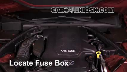 2016 Hyundai Genesis 3.8 3.8L V6 Fusible (motor)