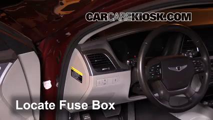 2016 Hyundai Genesis 3.8 3.8L V6 Fusible (interior)