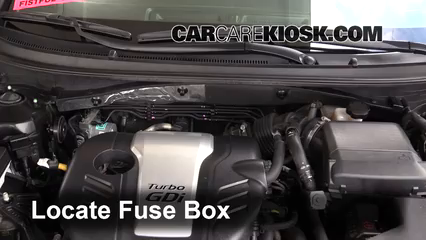 2016 Hyundai Sonata Eco 1.6L 4 Cyl. Turbo Fusible (moteur)