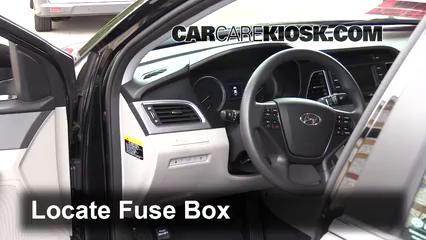 2016 Hyundai Sonata Eco 1.6L 4 Cyl. Turbo Fusible (intérieur)
