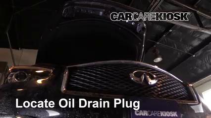 2016 Infiniti Q70 3.7 3.7L V6 Oil Change Oil and Oil Filter