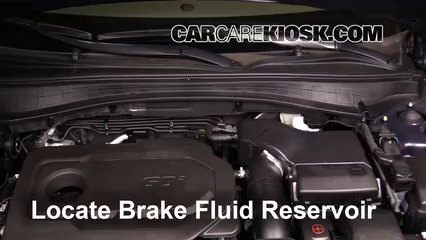 2016 Kia Optima EX 2.4L 4 Cyl. Brake Fluid