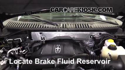 2016 Lincoln Navigator L Select 3.5L V6 Turbo Brake Fluid
