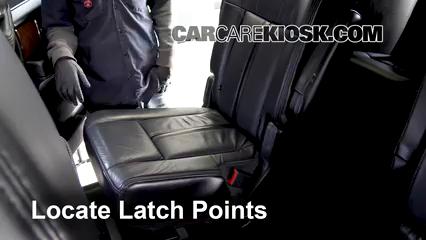 2016 Lincoln Navigator L Select 3.5L V6 Turbo Car Seats Install