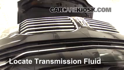 2016 Lincoln Navigator L Select 3.5L V6 Turbo Transmission Fluid
