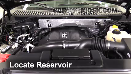 2016 Lincoln Navigator L Select 3.5L V6 Turbo Windshield Washer Fluid