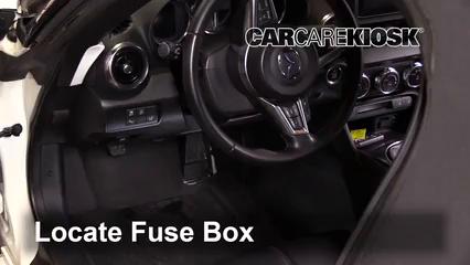 2016 Mazda MX-5 Miata Grand Touring 2.0L 4 Cyl. Fuse (Interior)