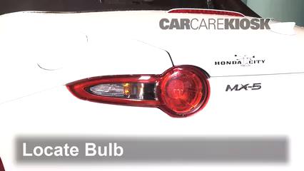 2016 Mazda MX-5 Miata Grand Touring 2.0L 4 Cyl. Lights